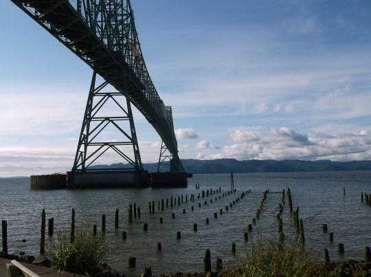 The Astoria-Megler bridge is the icon of the area and a very photogenic bit of engineering.