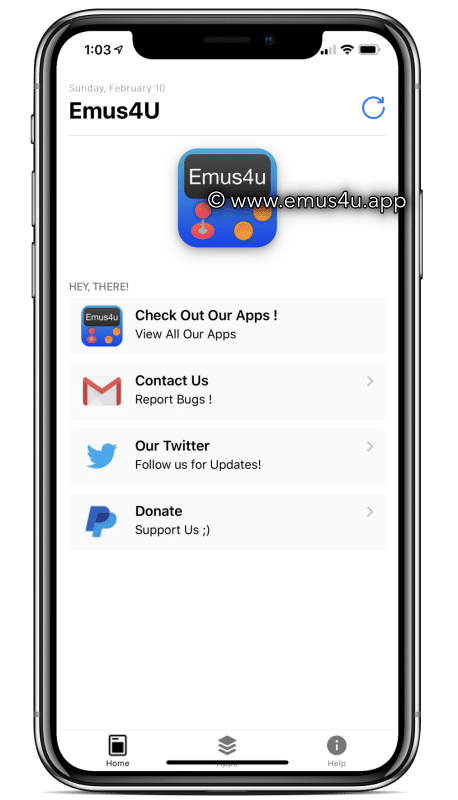 Emus4U App  iOS and Android