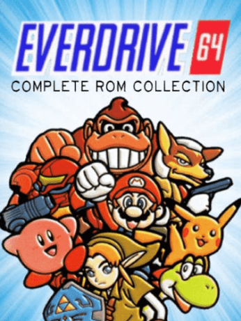 Everdrive-64 N64 Nintendo Full Game ROM Collection on MicroSD