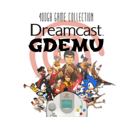 Dreamcast GDEMU 400GB Game Collection on SD Card
