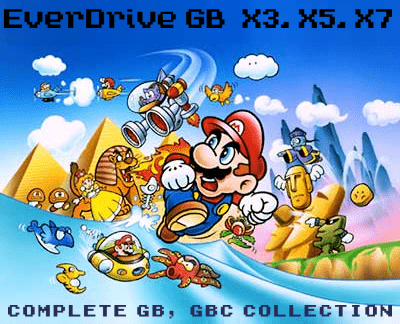 EverDrive GameBoy Collection