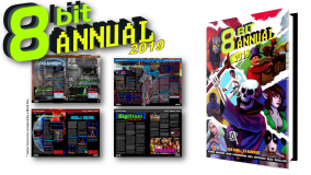 8-Bit Annual 2019 celebrates new games for old hardware in an eye-dazzling 200+ page full colour annual