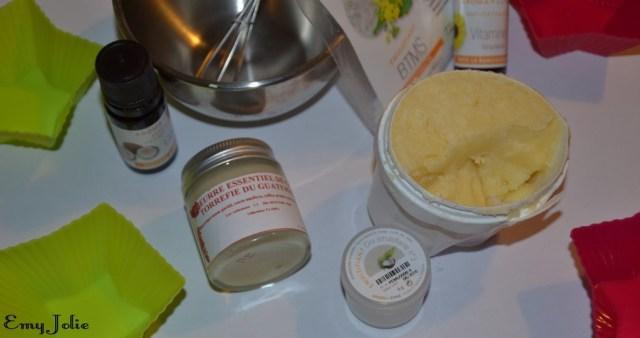 DIY Masque capillaire aux deux beurres
