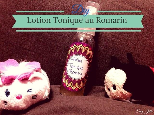 Lotion Tonique pour peaux mixtes au romarin