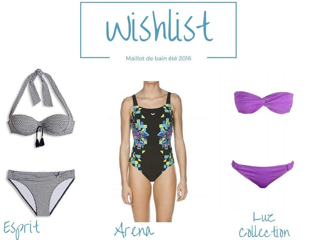 Wishlist maillot de bain