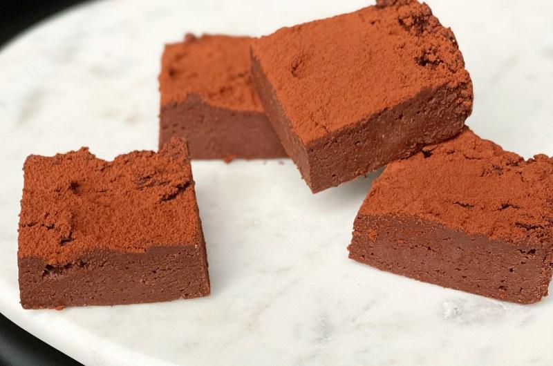Chocolate Cake Batter Protein Fudge