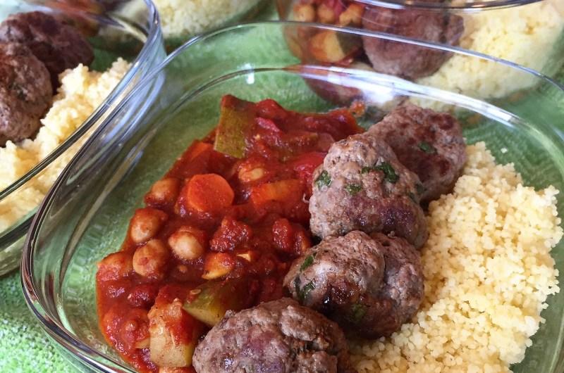 Moroccan Meatballs & Vegetable Tagine