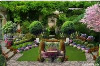 The Old Backyard Fountain - GardenPuzzle - online garden ...