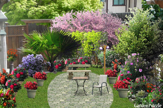 Corner  GardenPuzzle  online garden planning tool