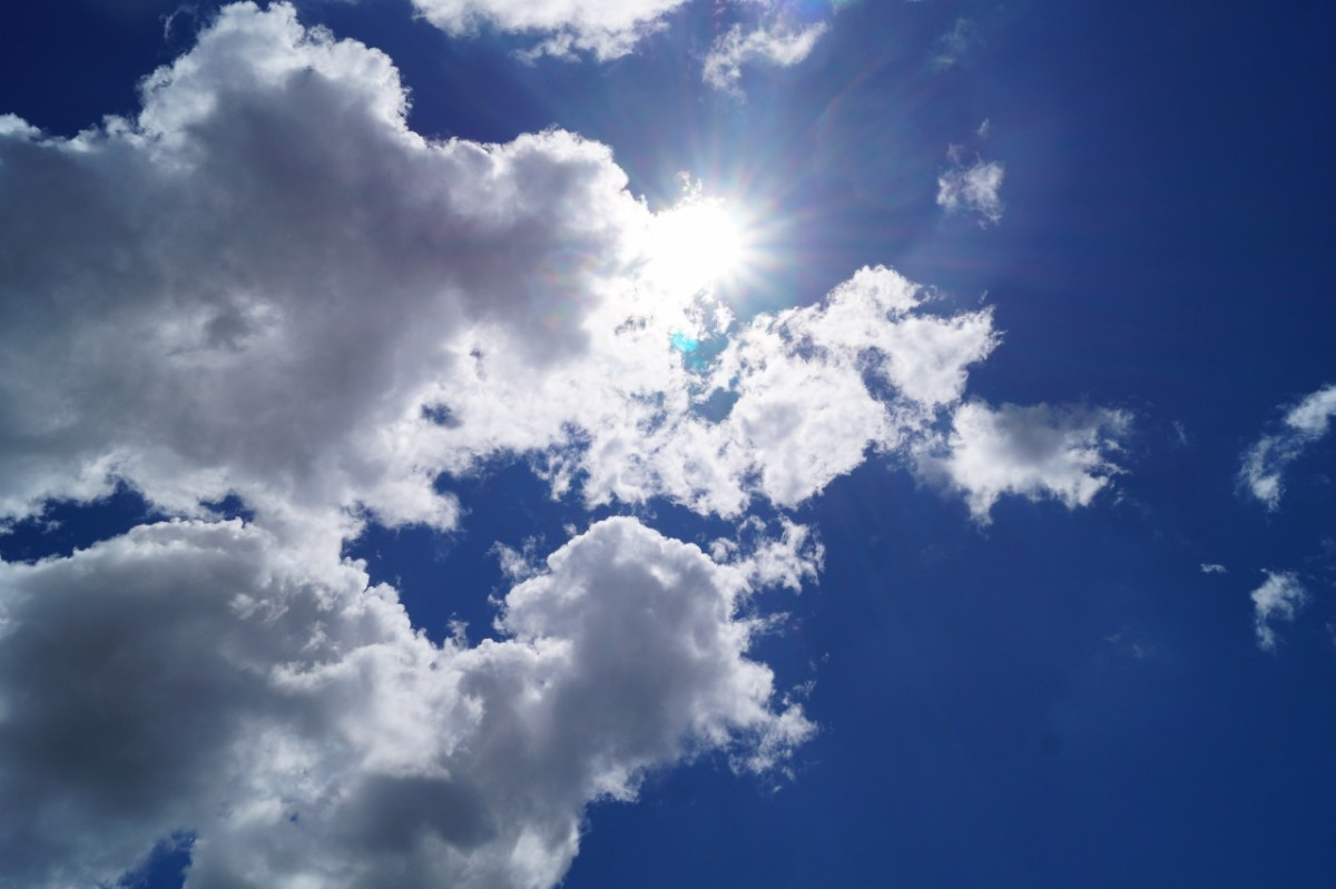 Himmel über der Vendée
