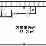 真ん中柱より左側(道路奥です) (間取)
