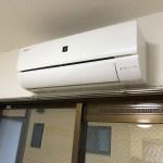エアコン 206号室の写真です。