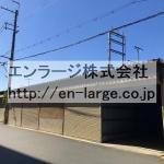 ♡宮之阪4丁目シャッター付ガレージ倉庫・6番約4.53坪 J166-030H2-021-6