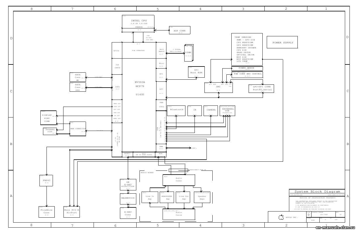 Schematics for Apple iMac 20'' A1224 in the online store