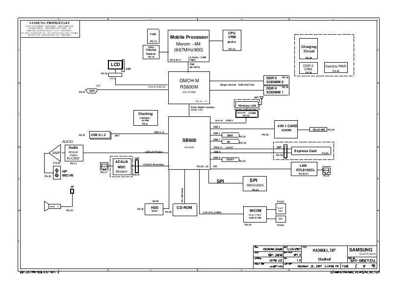 Schematics for Samsung NP-R19 in the online store at a low