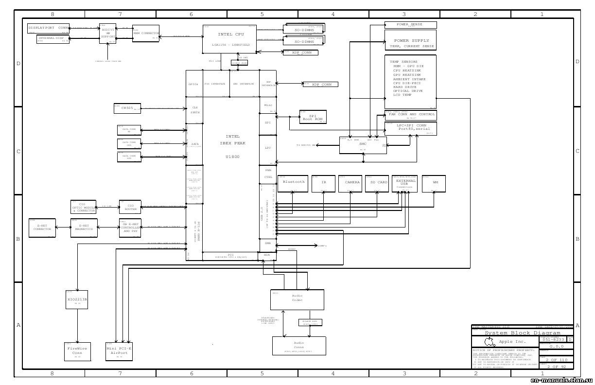 Schematics for Apple iMac 27