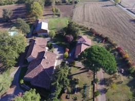Vue aérienne Jardin d'en Naoua