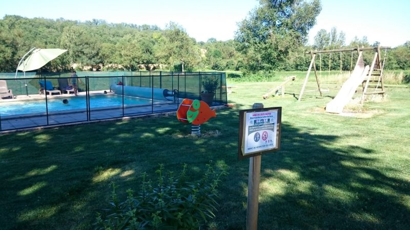 espaces de jeux dédiées aux enfants séjournant au Gîtes de groupe du jardin d