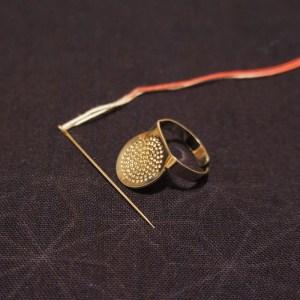 Sashiko Needle Thimble