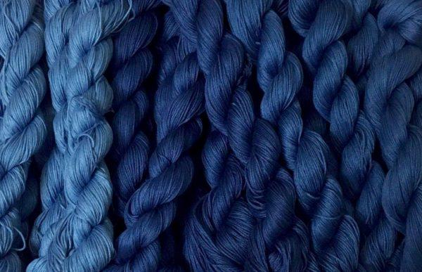 Indigo Dye Sashiko Thread
