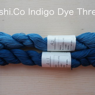Indigo Dye Sashiko Thread 1