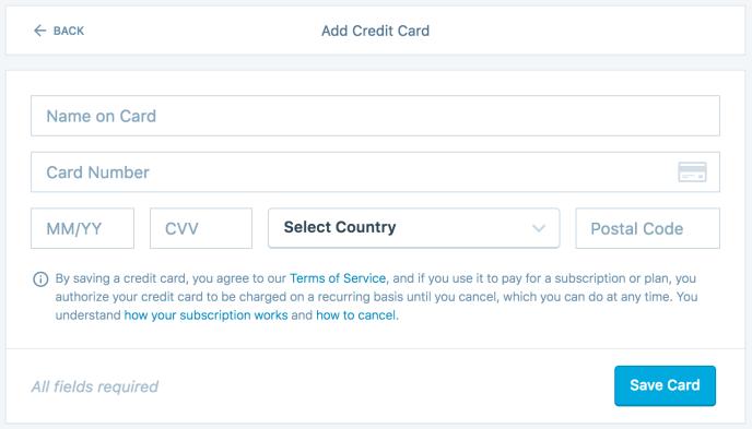 payment methods support wordpress