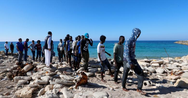 Photo of 55 illegal immigrate rescued near Libyan coasts