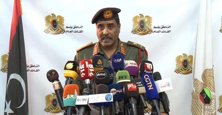 Photo of LNA spokesman denies targeting civilian car in southern Tripoli