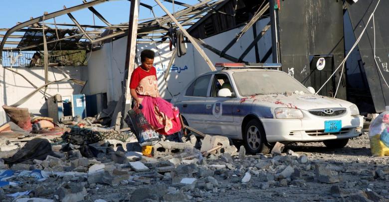 Photo of Survivors of strikes on Tajoura migration center cause crisis inside a UNHCR facility