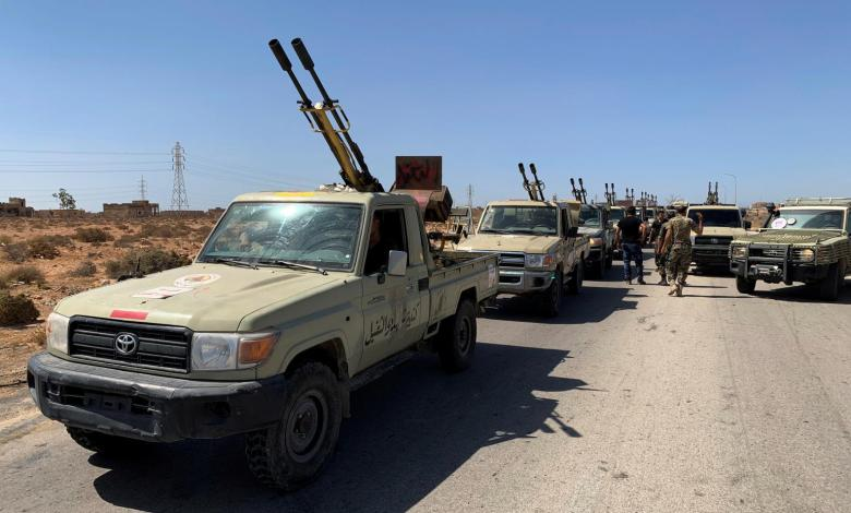 Photo of GNA sends military convoy from Misurata to Sirte