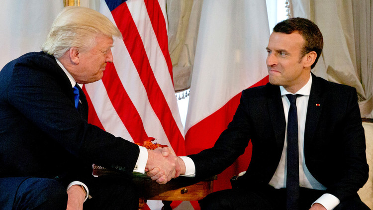 Photo of Macron, Trump discuss ways to alleviate tension in Libya