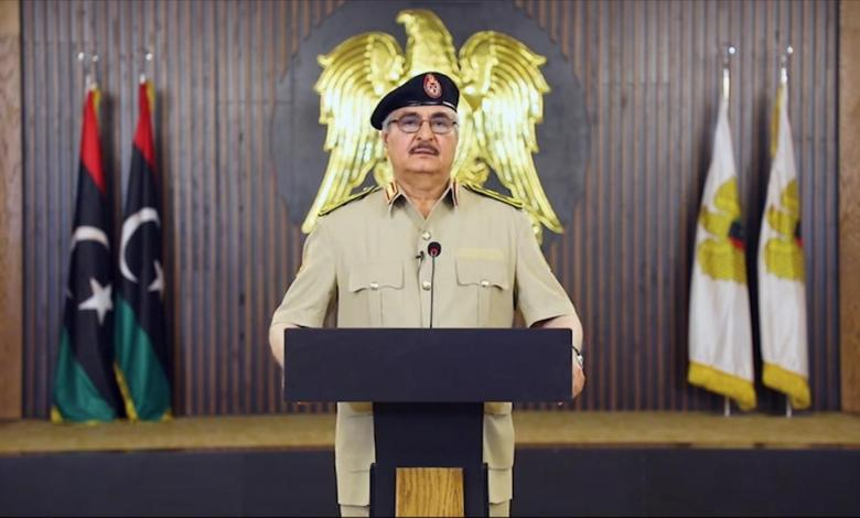 Photo of Haftar decides to make legal response to cases filed against him in the US