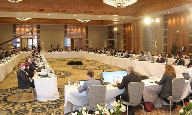 Photo of Libyan political dialogue reviews authorities of presidential council, unity government and vote of confidence