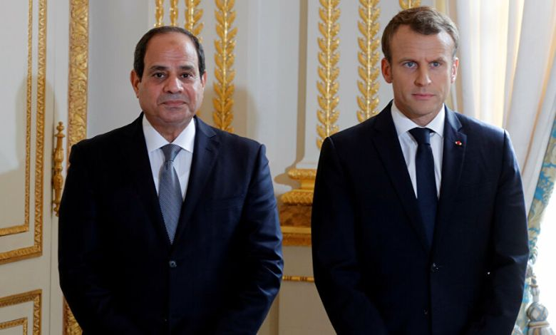 Photo of El-Sisi and Macron stress need to remove mercenaries from Libya