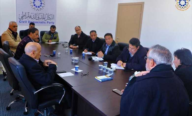 Photo of Civil Democratic Bloc warns of attempts to deprive Libyans from electing their president