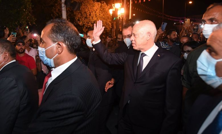 Photo of Al-Bilad reviews Tunisia latest developments: Did the President carry out a coup for the people?