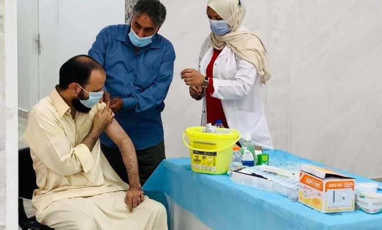 Photo of Libya launches group Coronavirus vaccination campaign