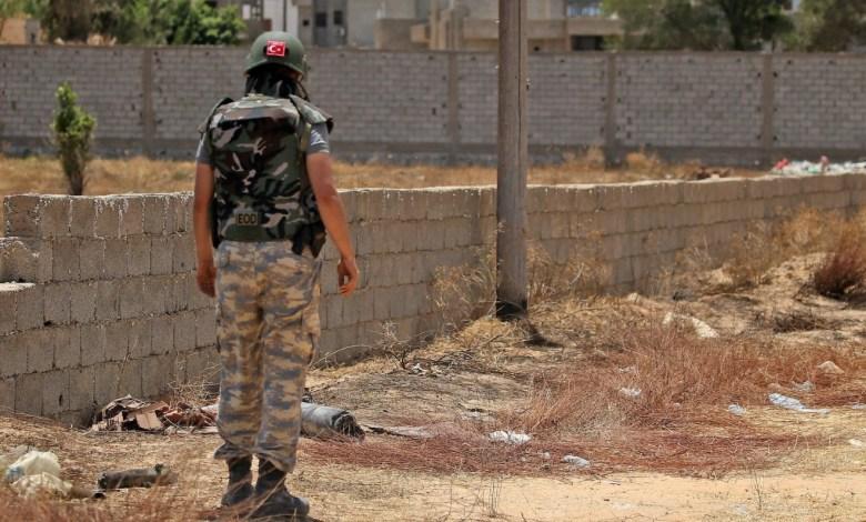 Photo of Source to 218News: Turkey transfers its mercenaries from Al-Wattia to Mitiga base in Tripoli