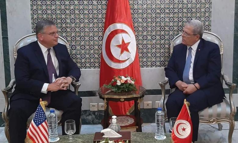 Photo of Al-Jarandi to US ambassador: Tunisia's relations with Libya are great, and will always progress