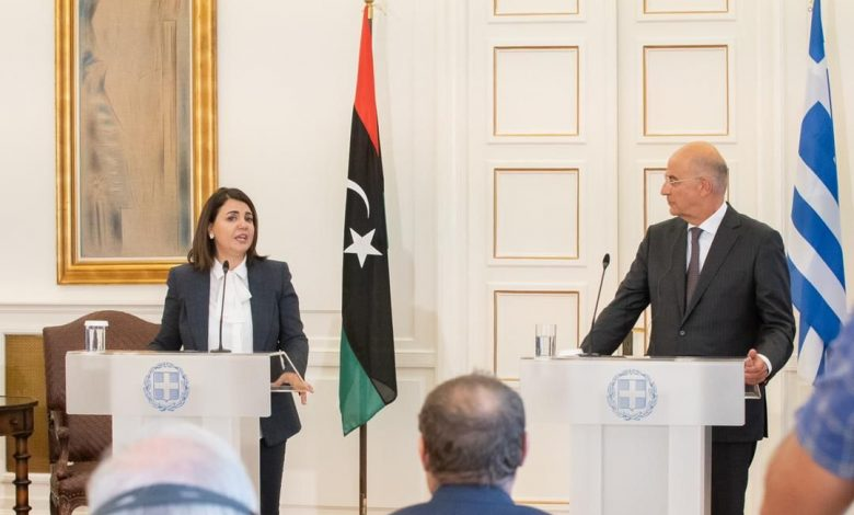 Photo of Libyan Foreign Minister asks for EU support through Greece
