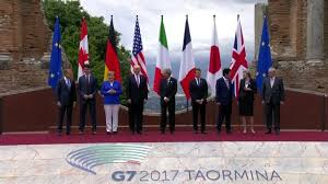 G7 leaders reach impasse on climate, urge cyber crackdown