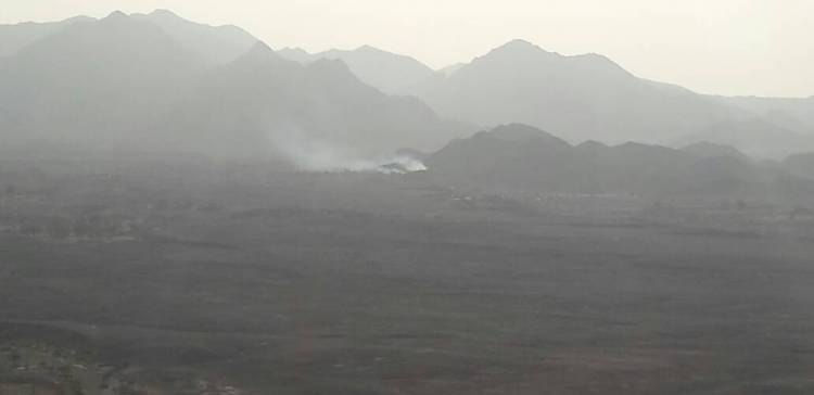 NA artillery hit hard coup militia in Serwah western Marib