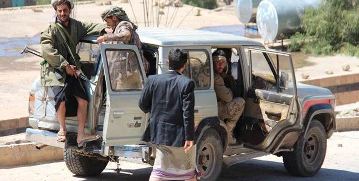 Ibb..Houthi-Saleh militias commit 94 violations in August