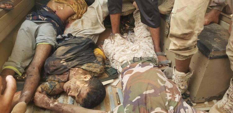 Air raid kills 18 militias western Taiz