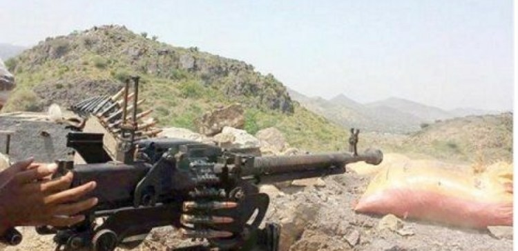 Taiz..battles continue between NA and militias in the city's warfronts