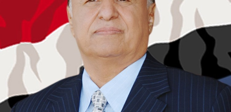 President Hadi consoles his Egyptian counterpart on the victims of terror attack on Mosque Sinia