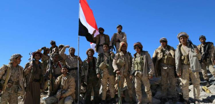 Sana'a…Army troops liberate several positions , dozens militiamen killed, injured by Airstrikes.