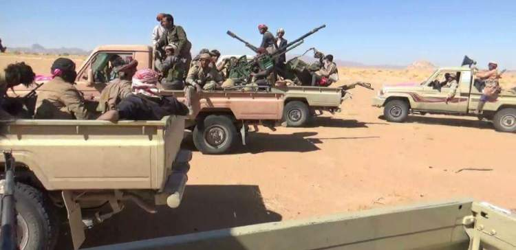 NA liberates the international line, captures 52 elements of the Houthi militias in Al-Jawf