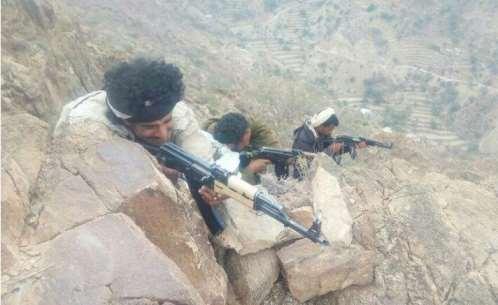 Lahjj,,, National Army makes gains, coalition jets strike Houthi militia