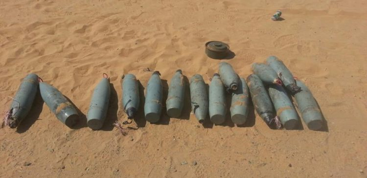 Saadah..army removes over 4,000 landmines